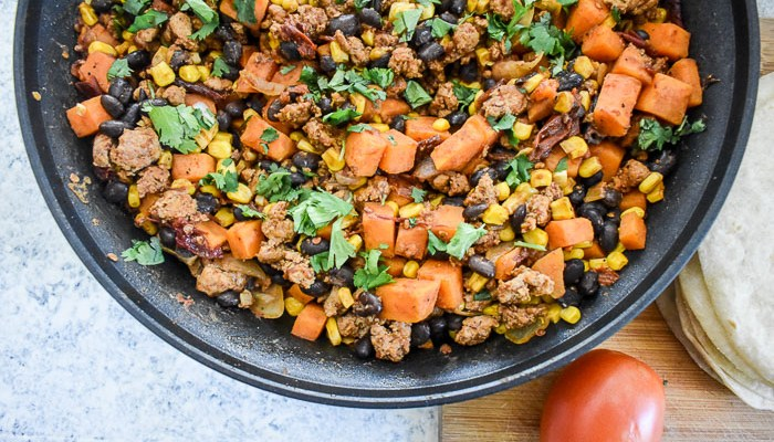 Spicy Chipotle Skillet Meal