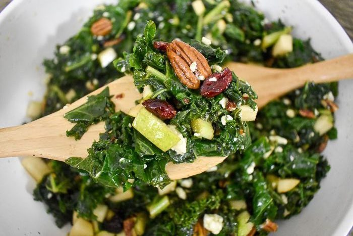 Addictive Massaged Kale Salad
