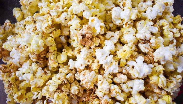 Buttery Chai Popcorn
