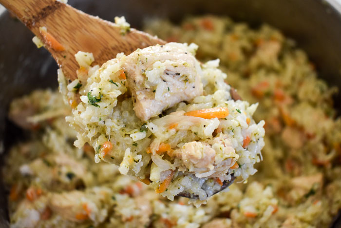 Full Flavor One-Pot Chicken & Rice