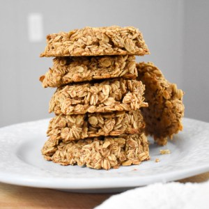 2-Step Healthy Breakfast Cookies (Vegan, GF)