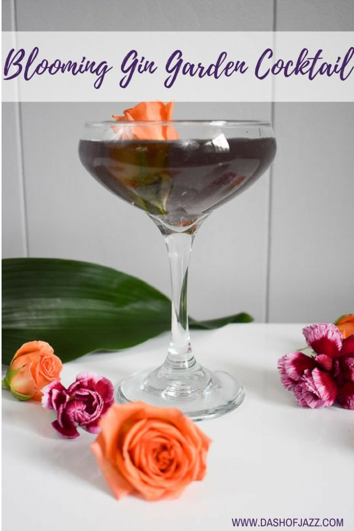 Blooming Gin Garden Cocktail