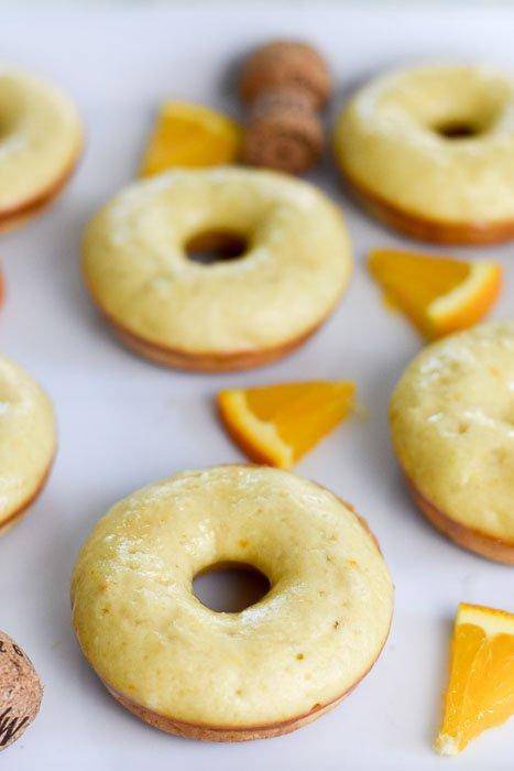 Life-Changing Baked Mimosa Donuts