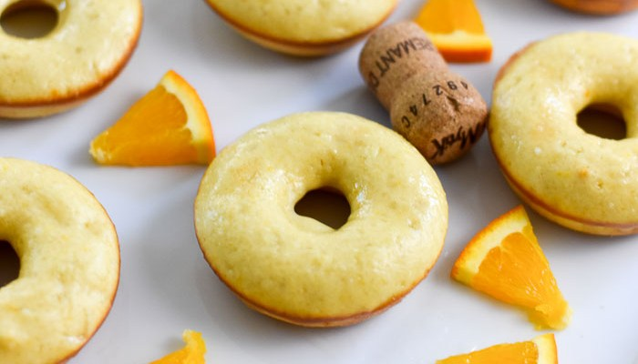 Life-Changing Baked Mimosa Donuts