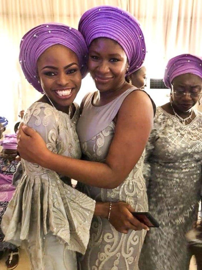 Yoruba women at traditional wedding in Ikeja, Lagos, Nigeria