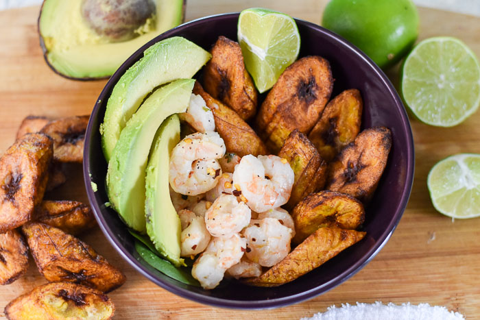 Coconut Lime Shrimp & Plantain