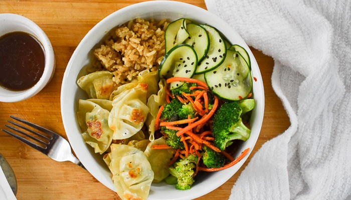 15-Minute Wonton Power Bowl