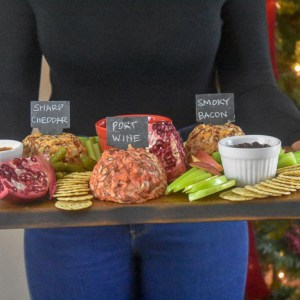 Build a Holiday Cheese Board in Three Steps