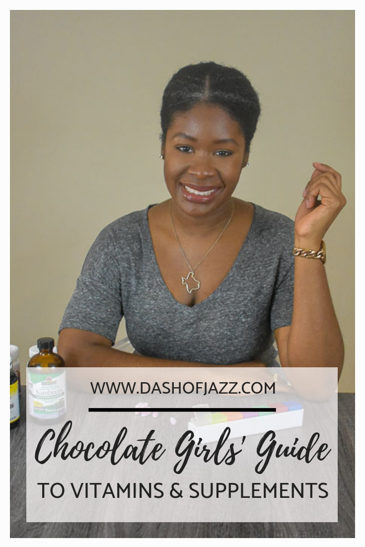 Expert tips on how choose vitamins & supplements, secret super foods, and black women's specific nutritional needs plus answers to all your questions about hot supplements with registered dietician nutritionist, Marisa Moore by Dash of Jazz #dashofjazzblog #blackgirlmagic #nutritioneducation #vitaminsforwomenintheir20s #supplementsforwomen #supplementsforhairgrowth
