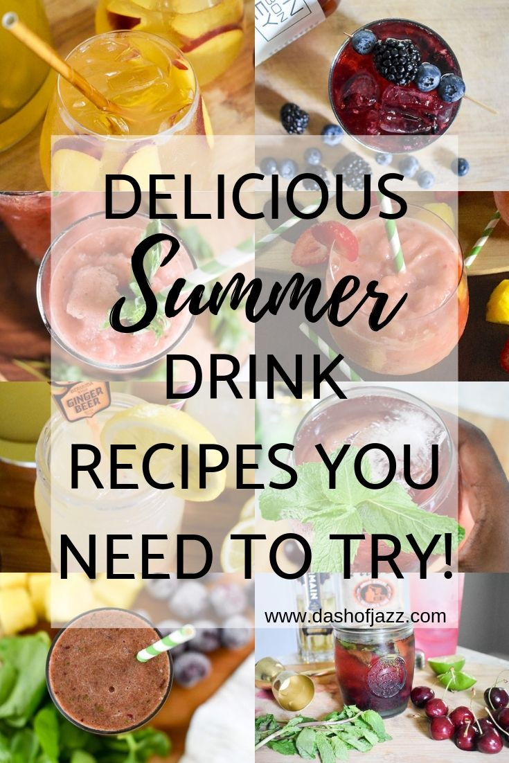 Summer Sips - Drinks to Cool Off With This Season