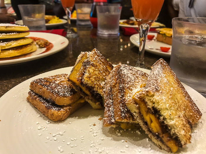 chocolate grilled cheese at Chocobar Cortes in Old San Juan