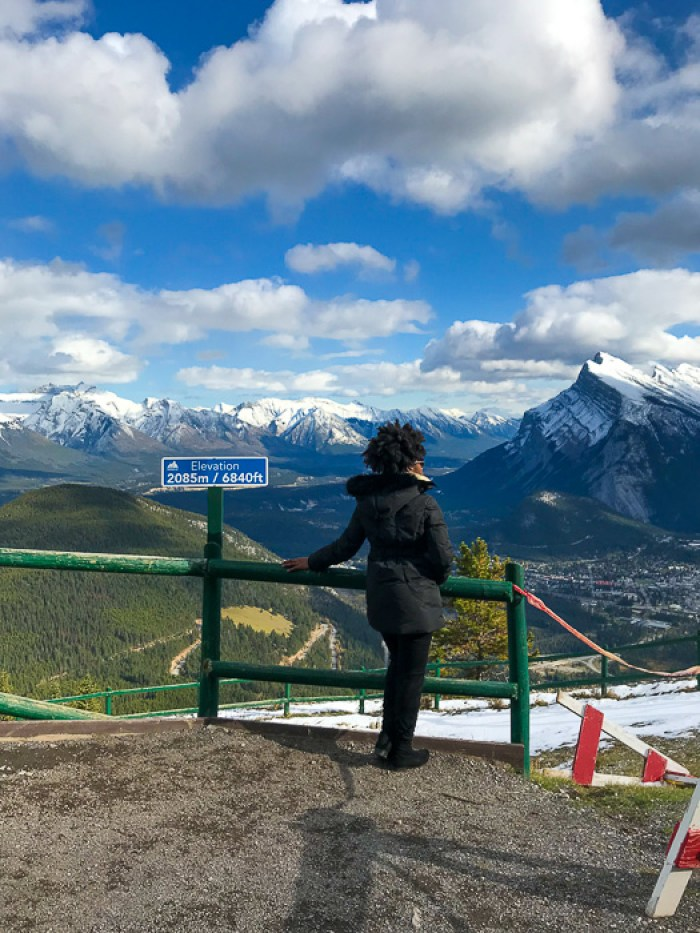 Dash of Jazz atop Mount Norquay, Banff, Alberta