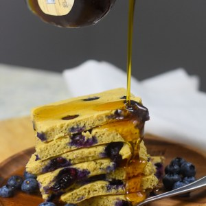 Kodiak Cakes Sheet Pan Blueberry Protein Pancakes