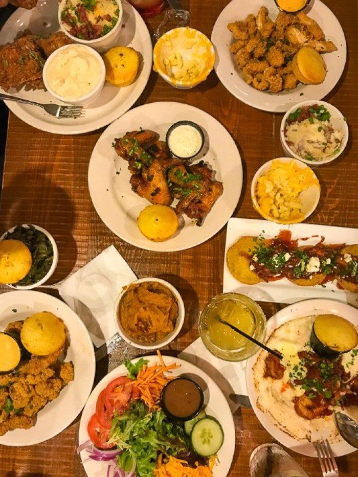 dinner at Old Lady Gang in Atlanta, GA