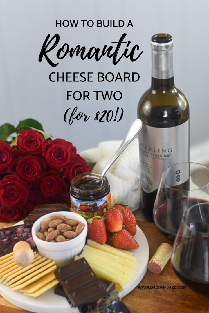 romantic cheese plate pin from Dash of Jazz