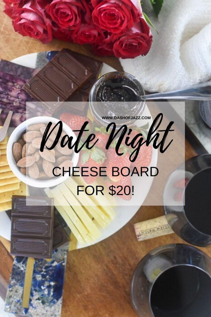 Dash of Jazz Date Night Cheese Plate Pin