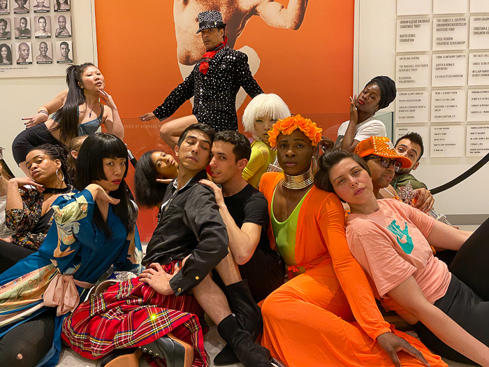 Cesar Valentino's All Styles Vogue class at the Alvin Ailey Extension