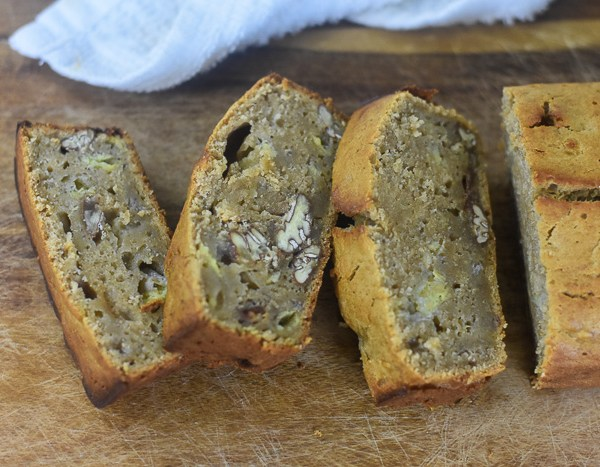 Banana Rum Pecan Bread