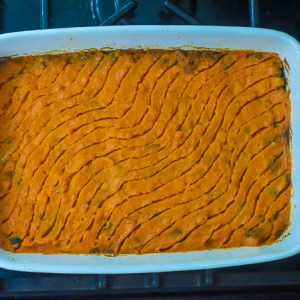 Fusion Sweet Potato Shepherd's Pie