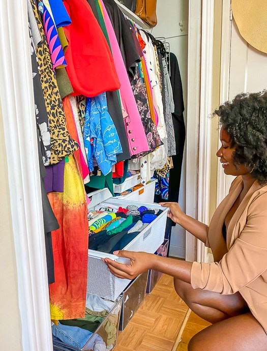 The Rules for Easy Closet Organization