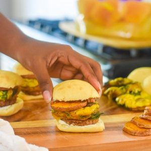 Make-Ahead Morning Sliders  (Weekday Breakfast Sandwiches)