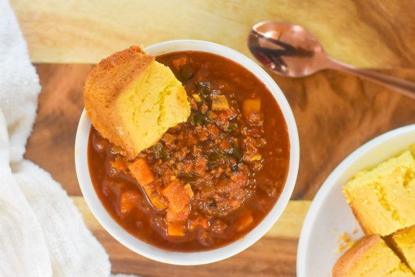 Moroccan Spiced Beef & Veggie Chili