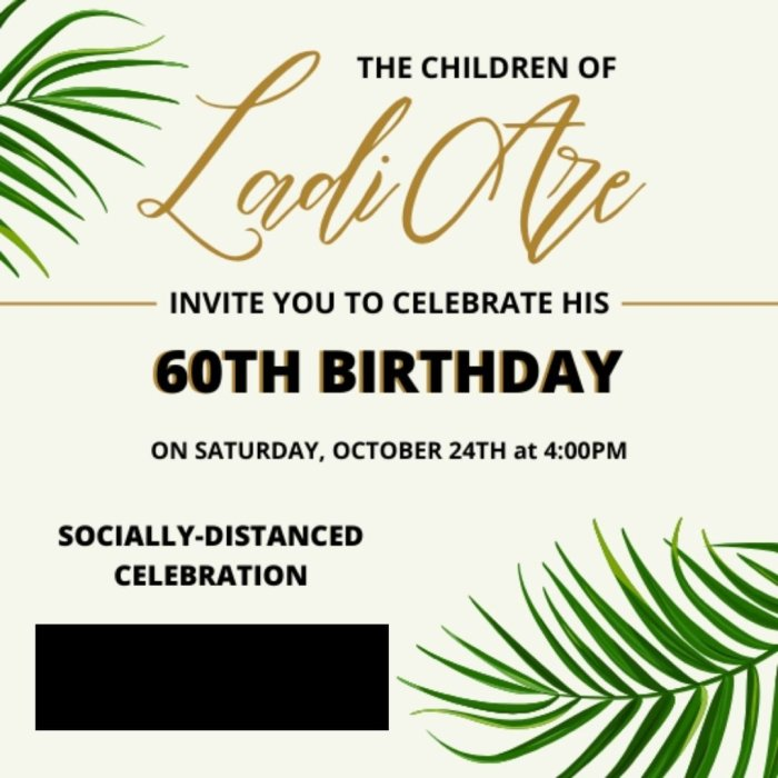 digital birthday invitation