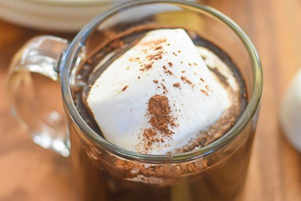Bourbon Gingerbread Hot Cocoa