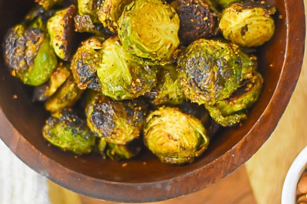 Crispy Suya-Spiced Brussels Sprouts + BHM Virtual Potluck 2021