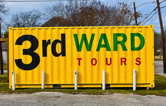 3rd ward tours sign on Elgin Rd.