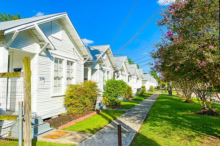 Project Row Houses in Houston's Third Ward.