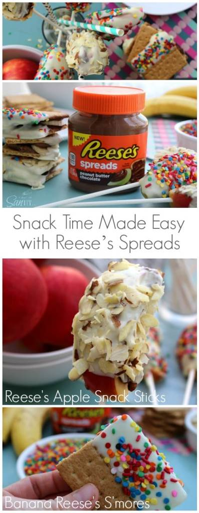 Snack Time Made Easy with Reese's Spreads