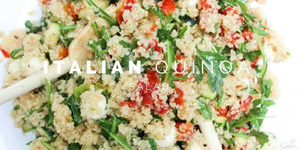 Italian Quinoa Salad Twitter