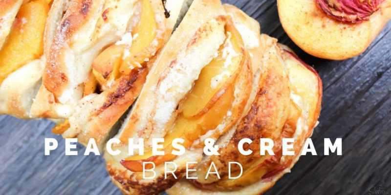 Peaches & Cream Bread Twitter