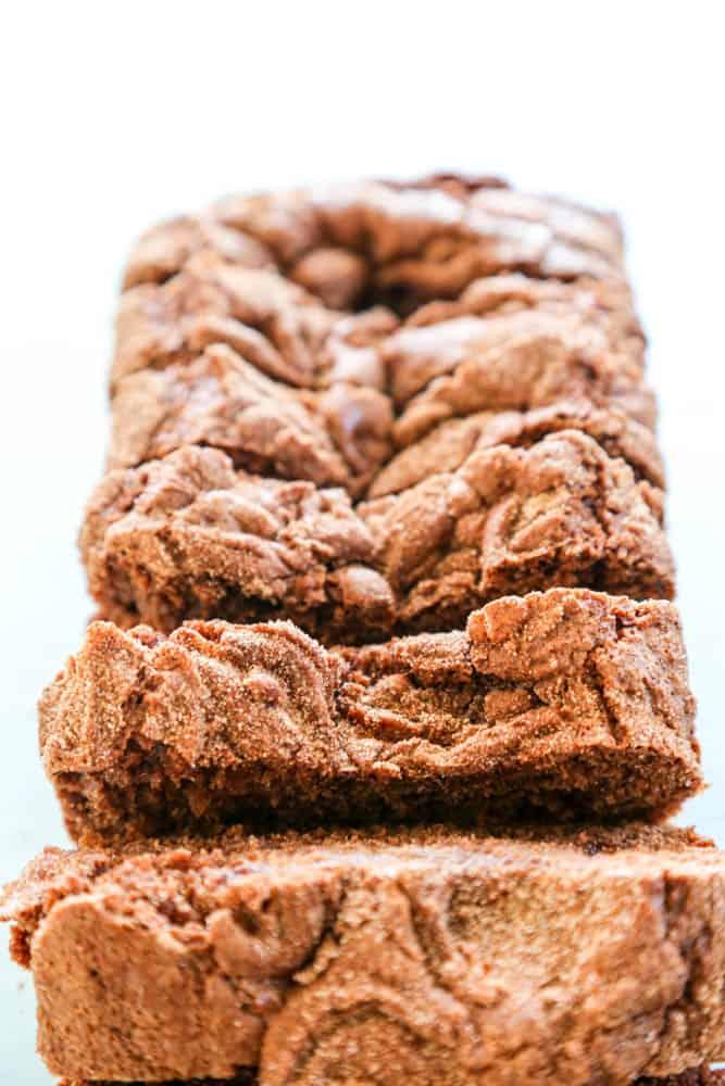 Chocolate Cinnamon Breadsliced
