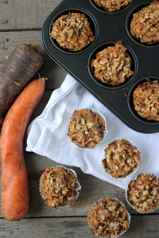 Breakfast-carrot-muffins