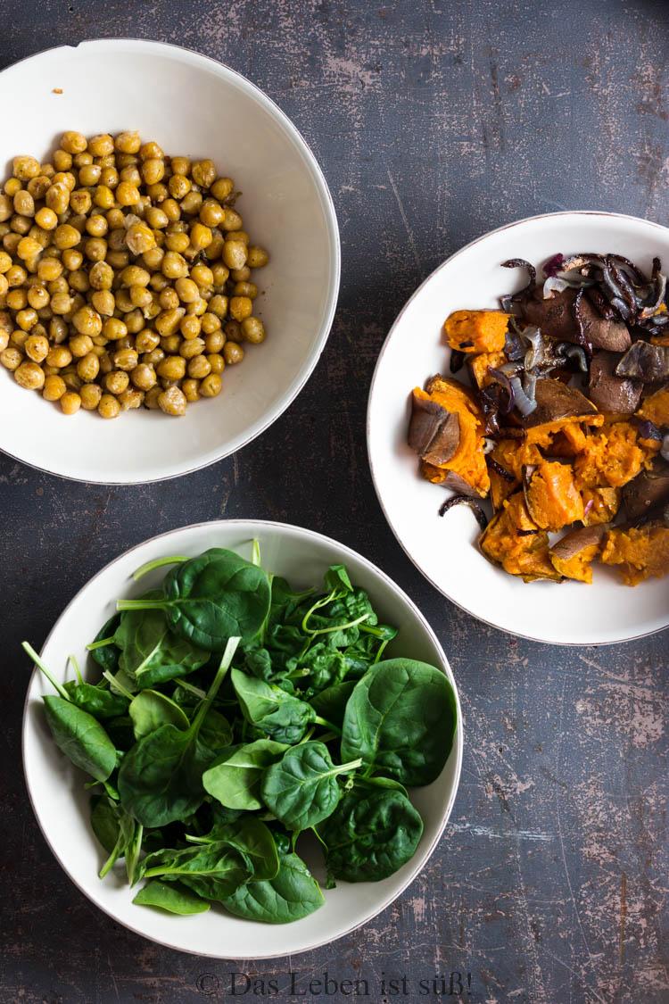 Kichererbsen-Spinat-Salat -1