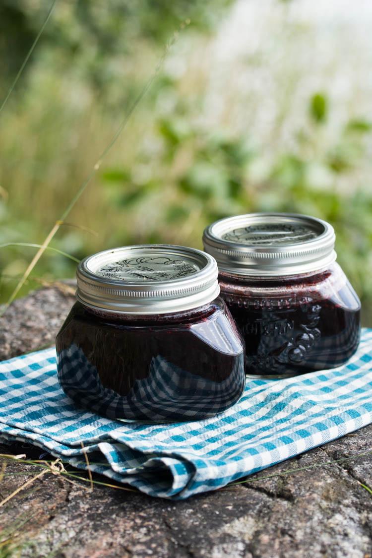 Blueberry jam-8