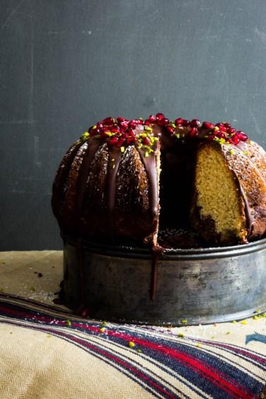 Marmorkuchen mit Schokolade und Granatapfel (58 von 69)