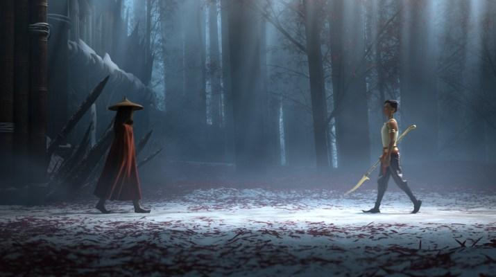 Raya e l'ultimo drago su Disney Plus
