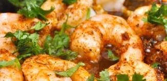 Coriander Garlic Shrimp