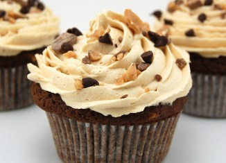 Mocha Cupcakes With Espresso Butter-cream Frosting