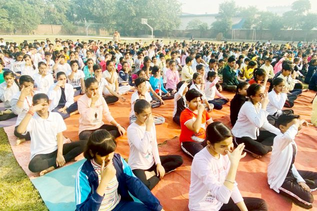 Fitness week celebrated at Das Universal Academy