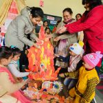 Lohri was celebrated at Das Universal Academy with a lot of zeal and enthusiasm