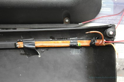 Rover Mini Xn Türtaschen mit LED-Streifen
