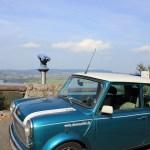 Rover Mini Xn am Kochelsee aussichtspunkt