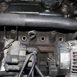 Rover Mini Xn - Kühlwasserschlauch im Weg