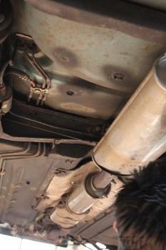 Rover Mini Xn - von unten