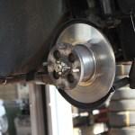 Rover Mini Xn - Bremsscheibenwechsel frisch montiert