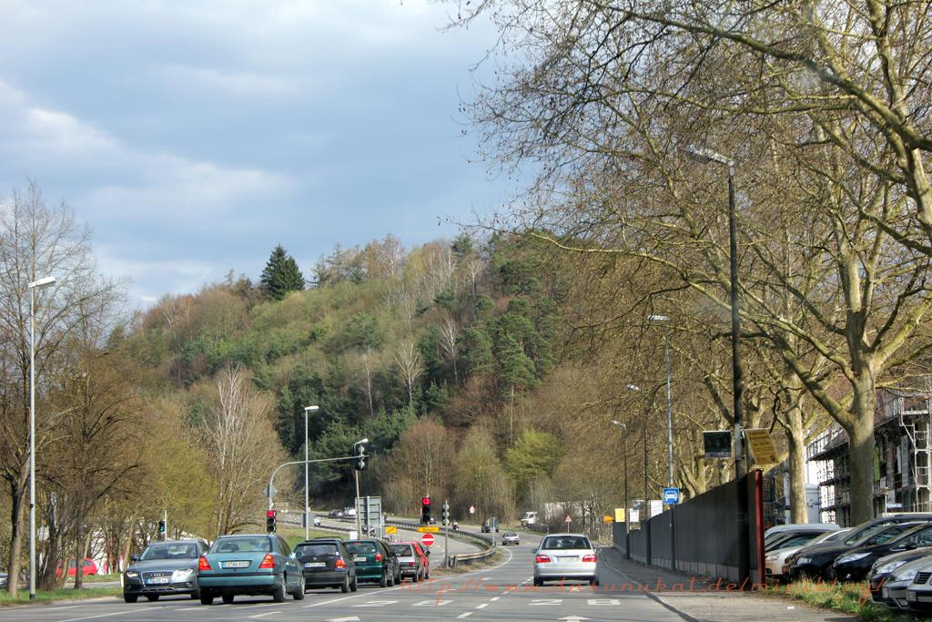 Ortsausgang Tübingen